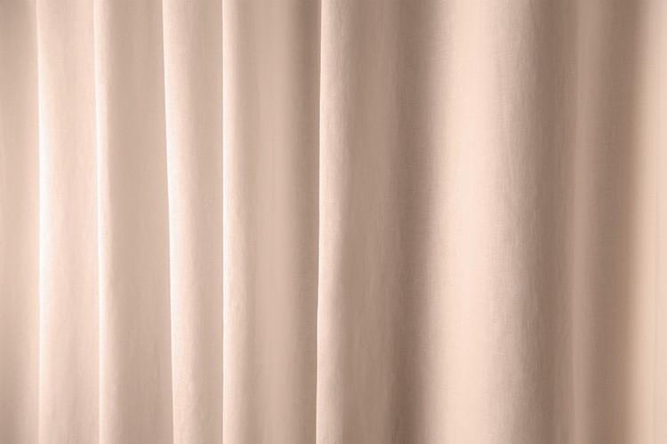 Linen Shower Curtain Sand Color