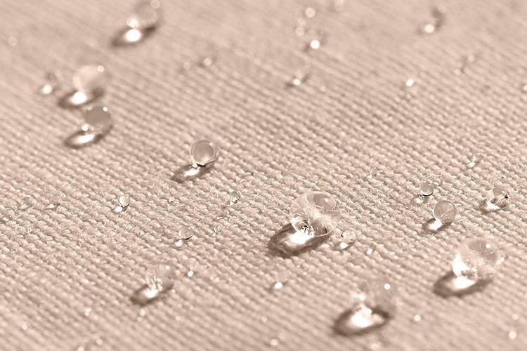 Rideau pour douche en lin sable galbobain by libeco for Systeme rideau de douche