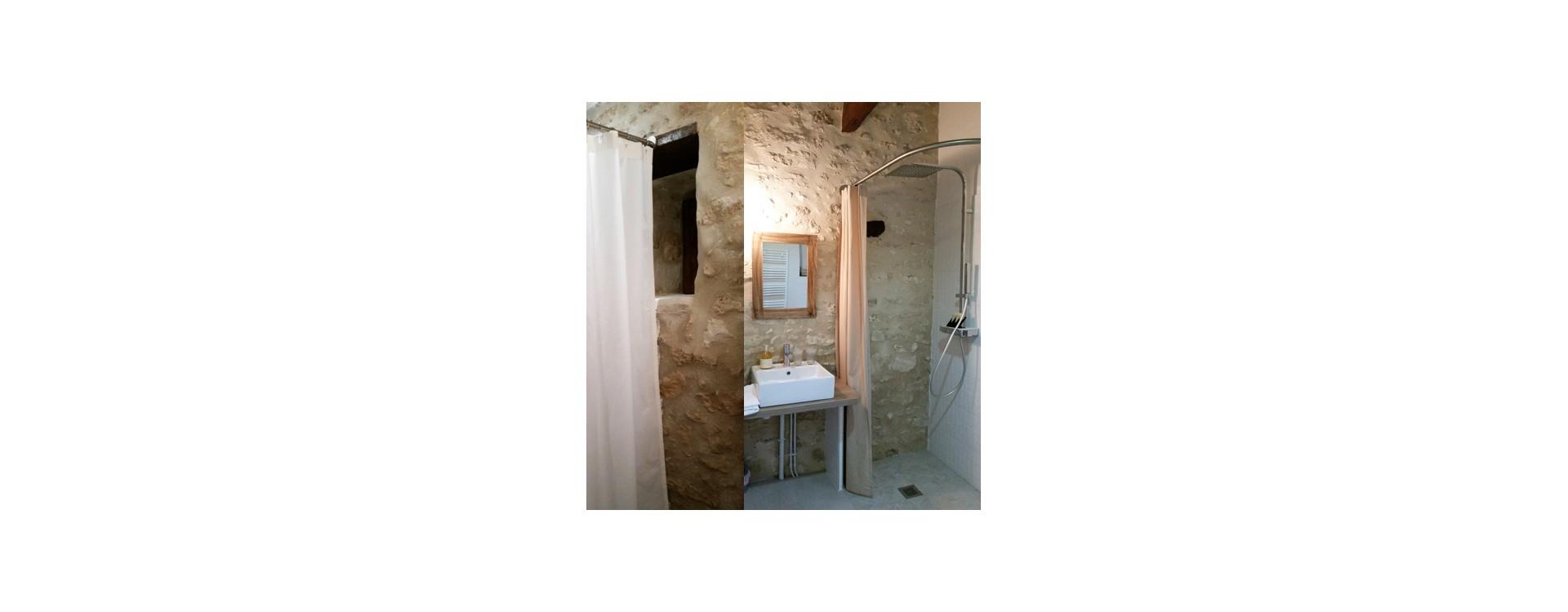 GalboBain équipe les salles de bain des chambres de Beynes
