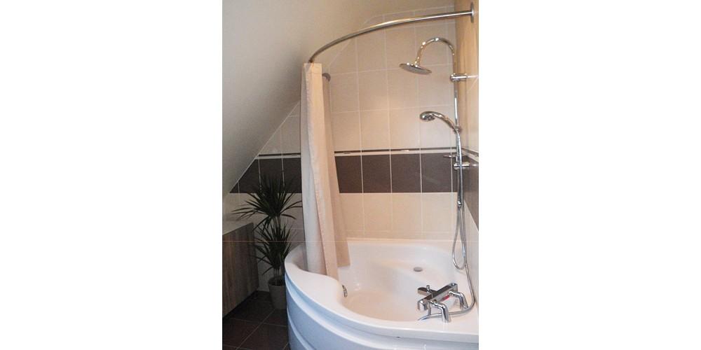 Solution barre de rideau de douche d'angle GalboBain et baignoire Ulysse 2 de Porcher