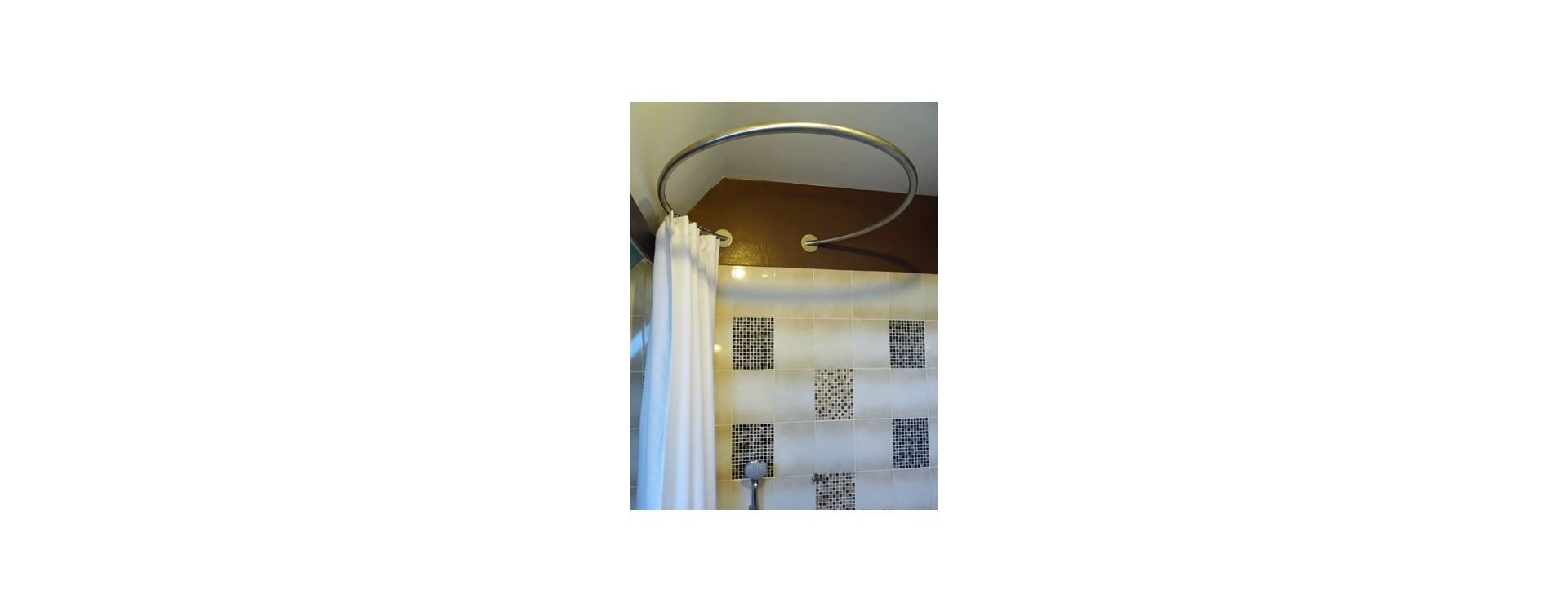 GalboBain: solution cabine de douche circulaire pour baignoire sous comble
