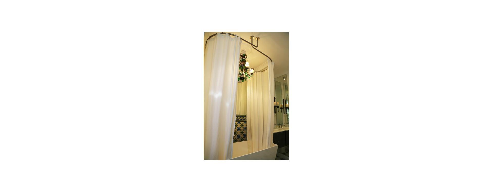 tringle pour baignoire. Black Bedroom Furniture Sets. Home Design Ideas