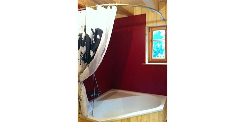 GalboBain et la baignoire d'angle D-Code de Duravit