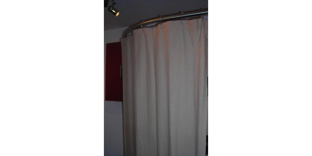 Cabine de douche textile haut de gamme GalboBain: une solution idéale pour la douche à l'italienne