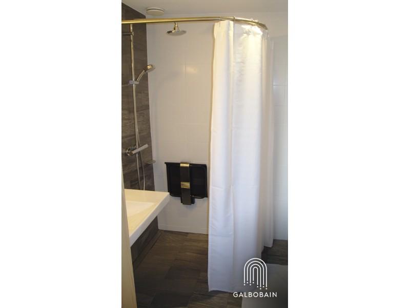 GalboBain équipe la douche italienne PMR du O'Connel Lodge