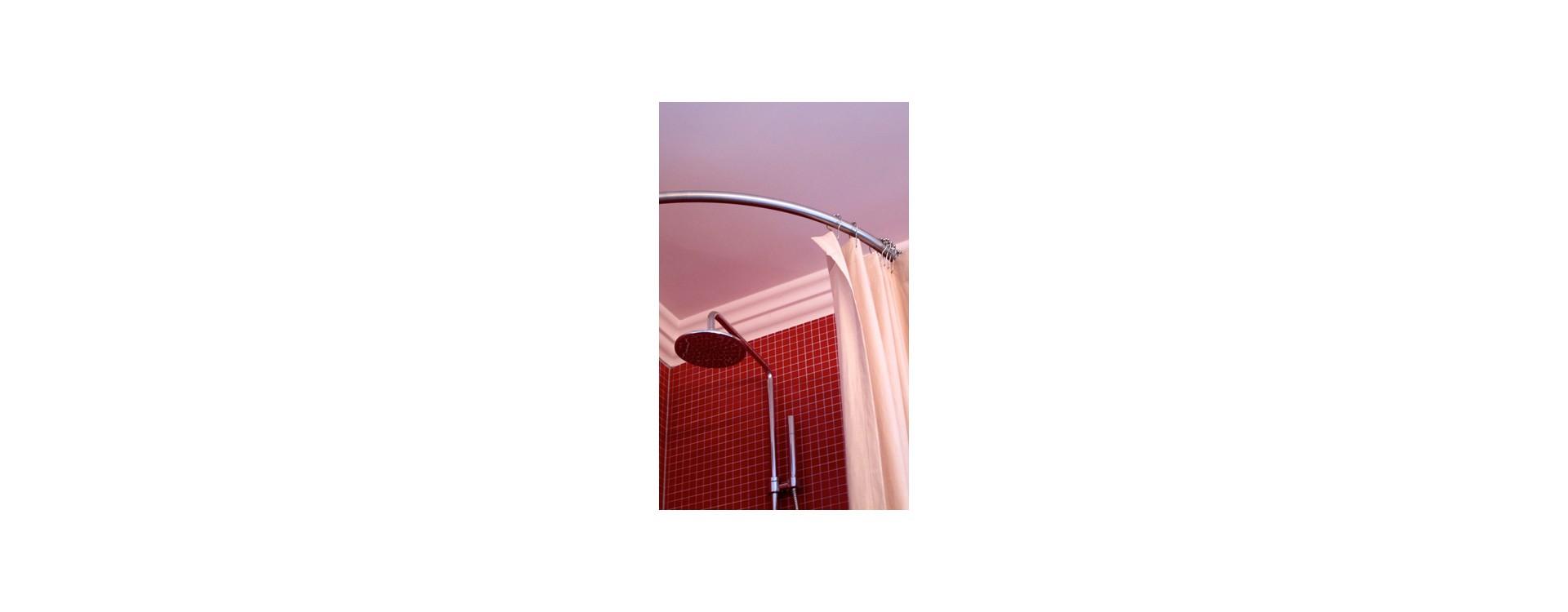 Galbobain dans l ambiance baroque d une salle de bain de d corateur galbobain - Rideau giet douche italienne ...