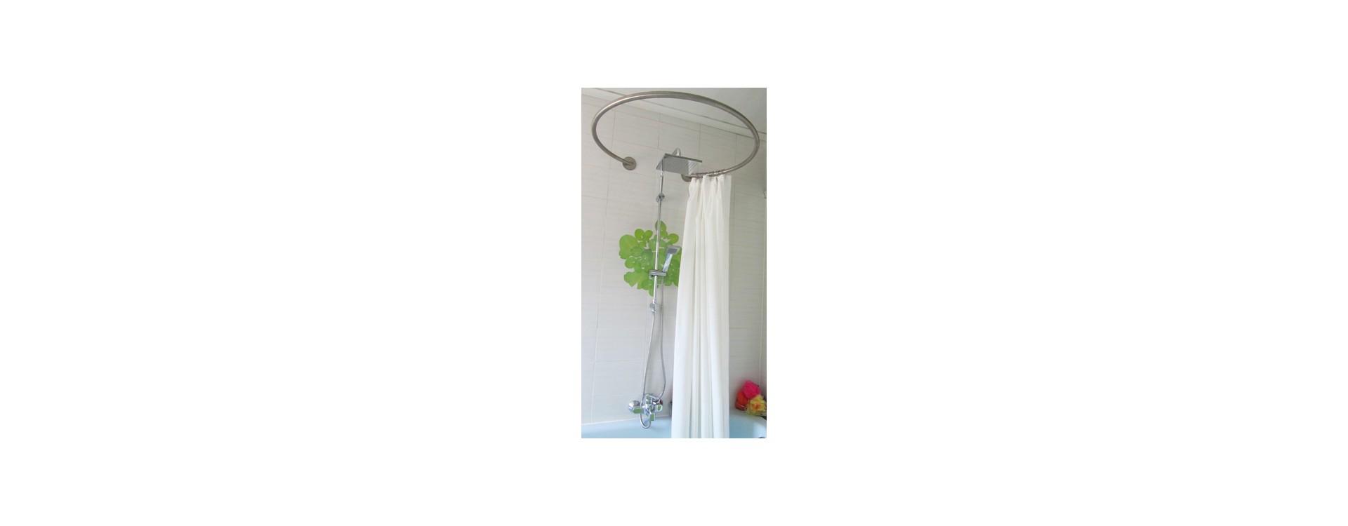 galbobain paroi de douche textile circulaire pour baignoire galbobain. Black Bedroom Furniture Sets. Home Design Ideas
